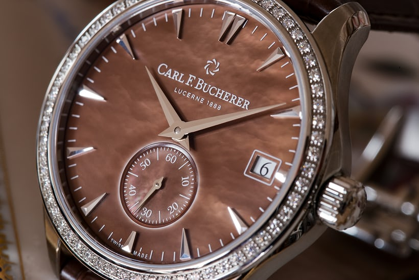 Carl F. Bucherer Manero Peripheral Ladies' dial