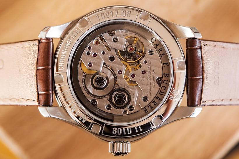 Caseback, Carl F. Bucherer Manero Peripheral Ladies'