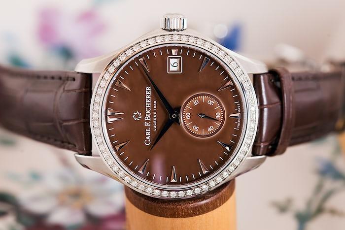 Carl F. Bucherer Manero Peripheral Ladies' dial side