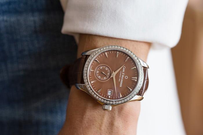 Carl F. Bucherer Manero Peripheral Ladies'  wrist shot