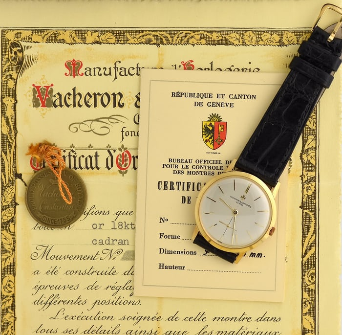 Vacheron & Constantin 6273 full set