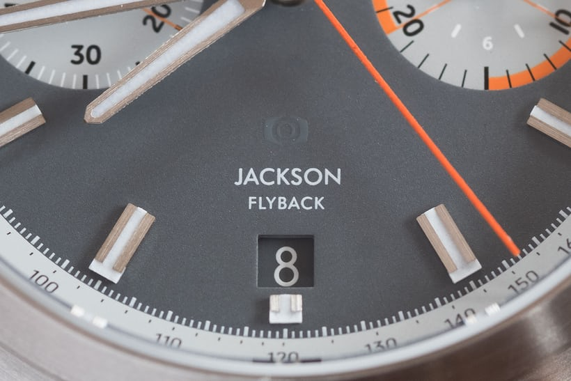 oak and oscar jackson flyback chronograph