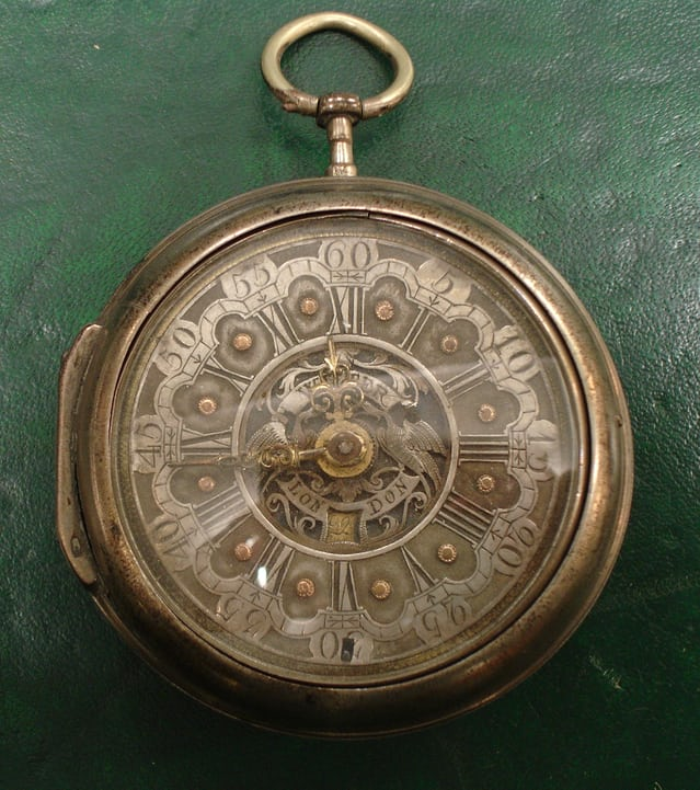 A watch claiming to be by John Wilter, London
