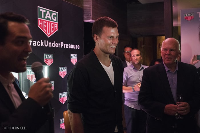 Introducing: The TAG Heuer Tom Brady Special Edition Heuer