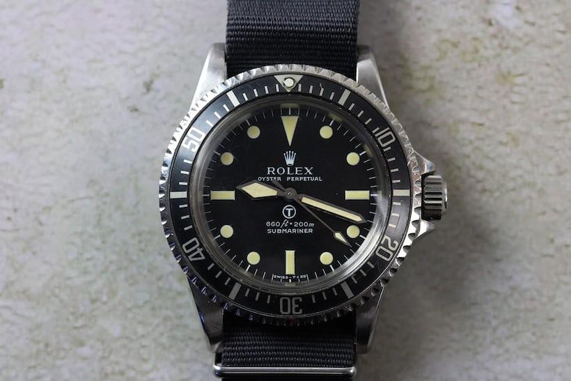 Rolex 5513 MilSub