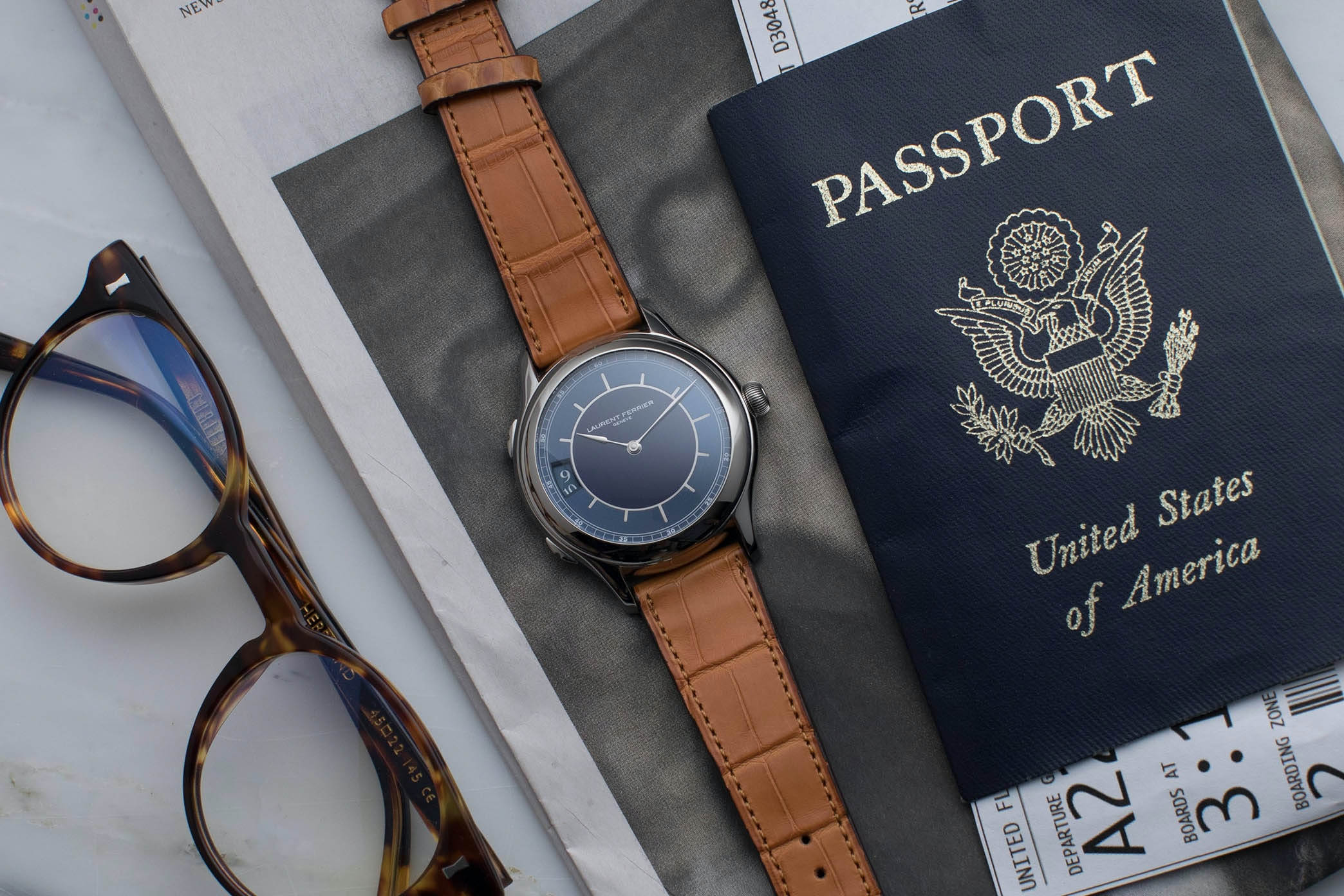 In The Shop: Introducing The Laurent Ferrier Traveller Limited Edition For HODINKEE hodinkee 045