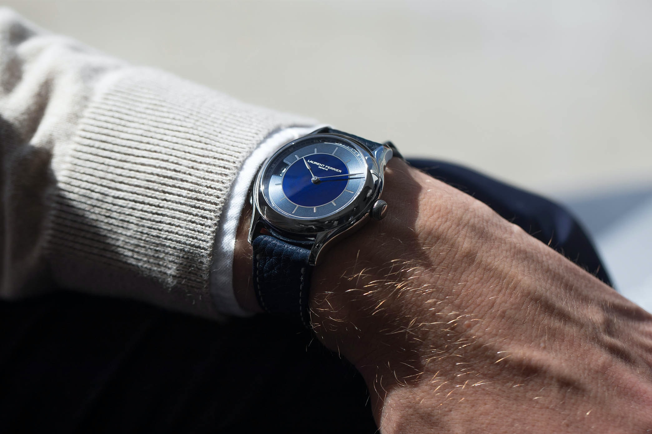 In The Shop: Introducing The Laurent Ferrier Traveller Limited Edition For HODINKEE hodinkee 001