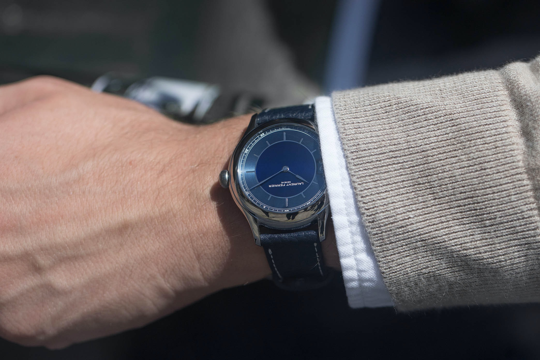 In The Shop: Introducing The Laurent Ferrier Traveller Limited Edition For HODINKEE hodinkee 013