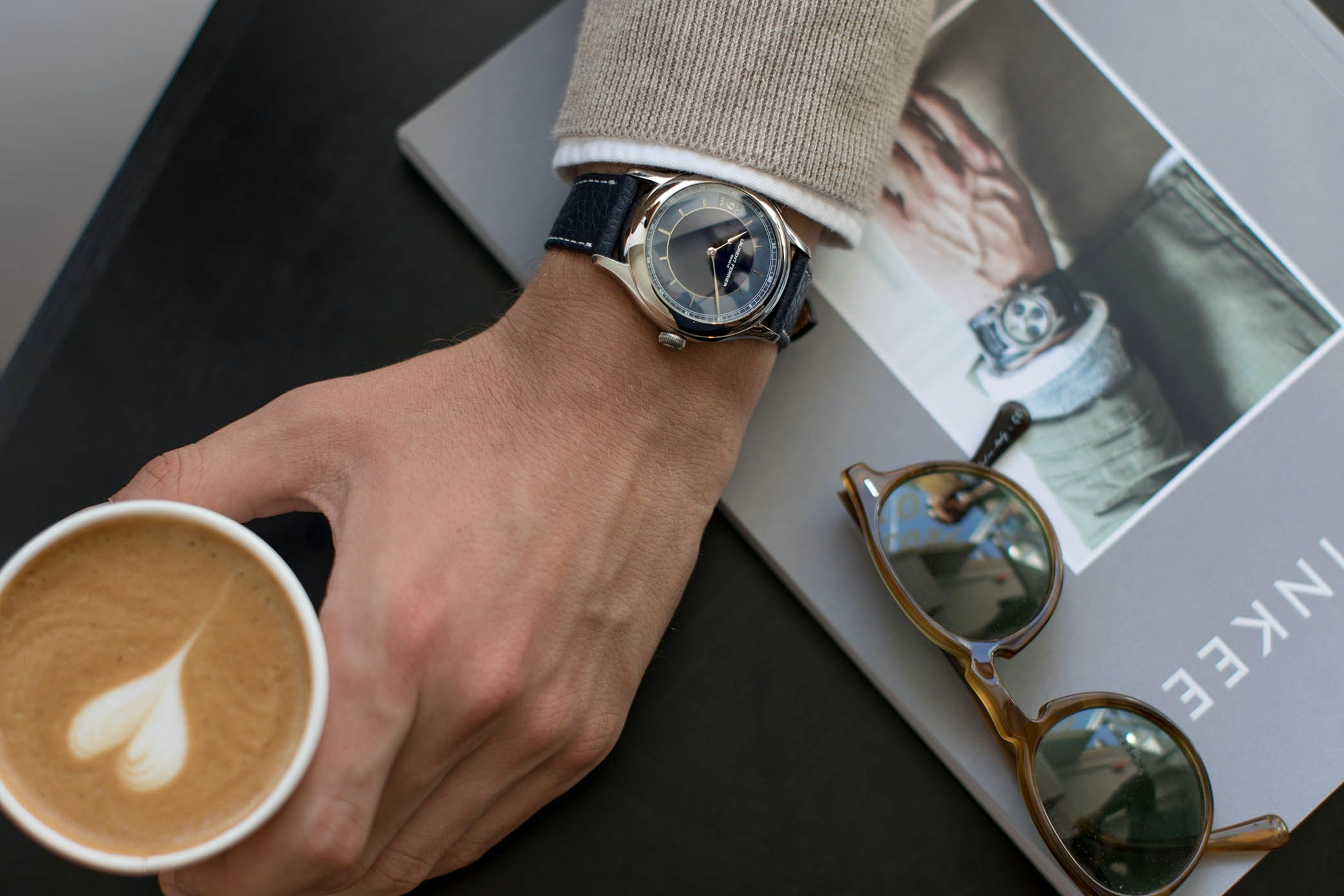 In The Shop: Introducing The Laurent Ferrier Traveller Limited Edition For HODINKEE hodinkee 057