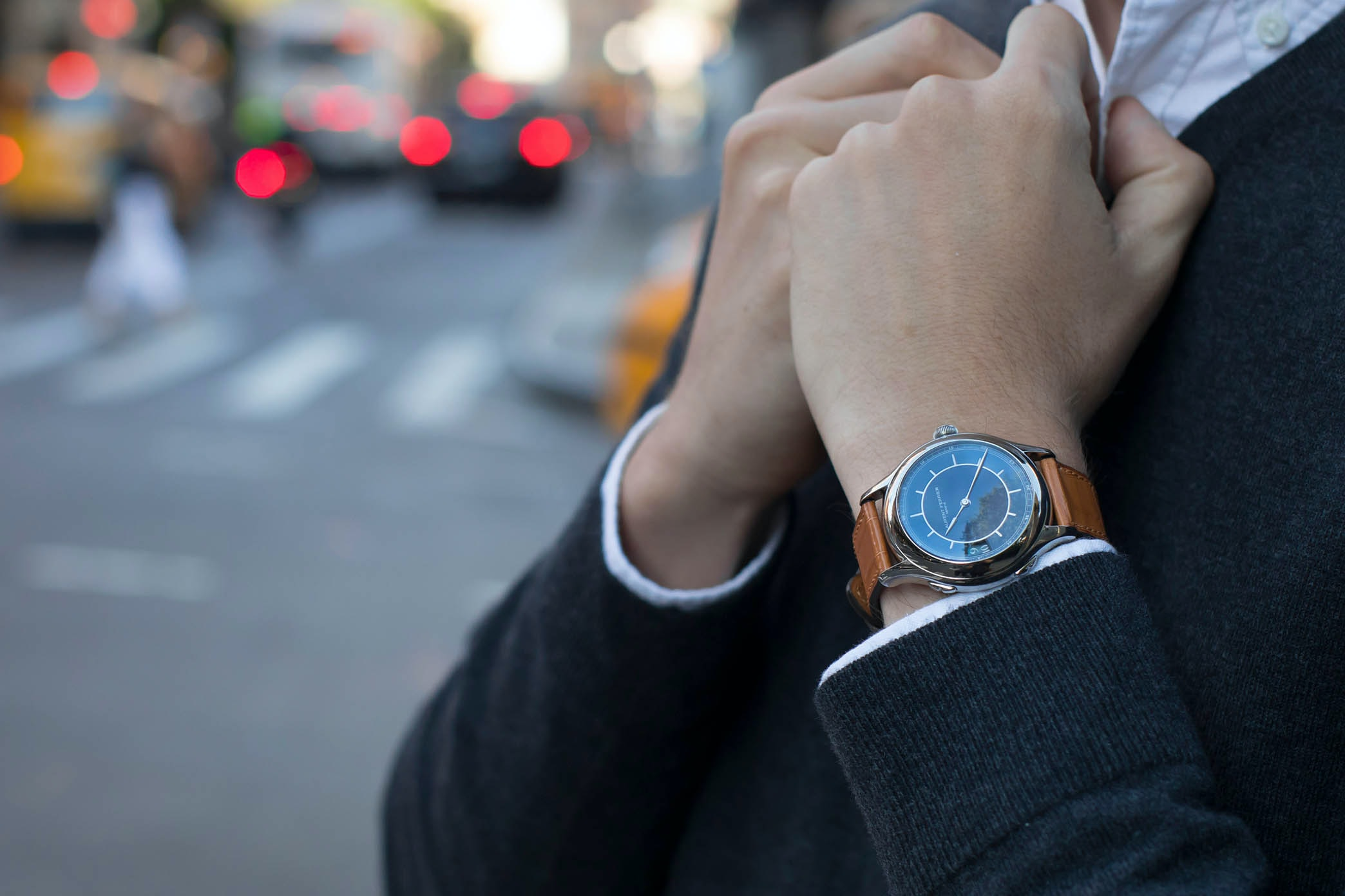 In The Shop: Introducing The Laurent Ferrier Traveller Limited Edition For HODINKEE hodinkee 069