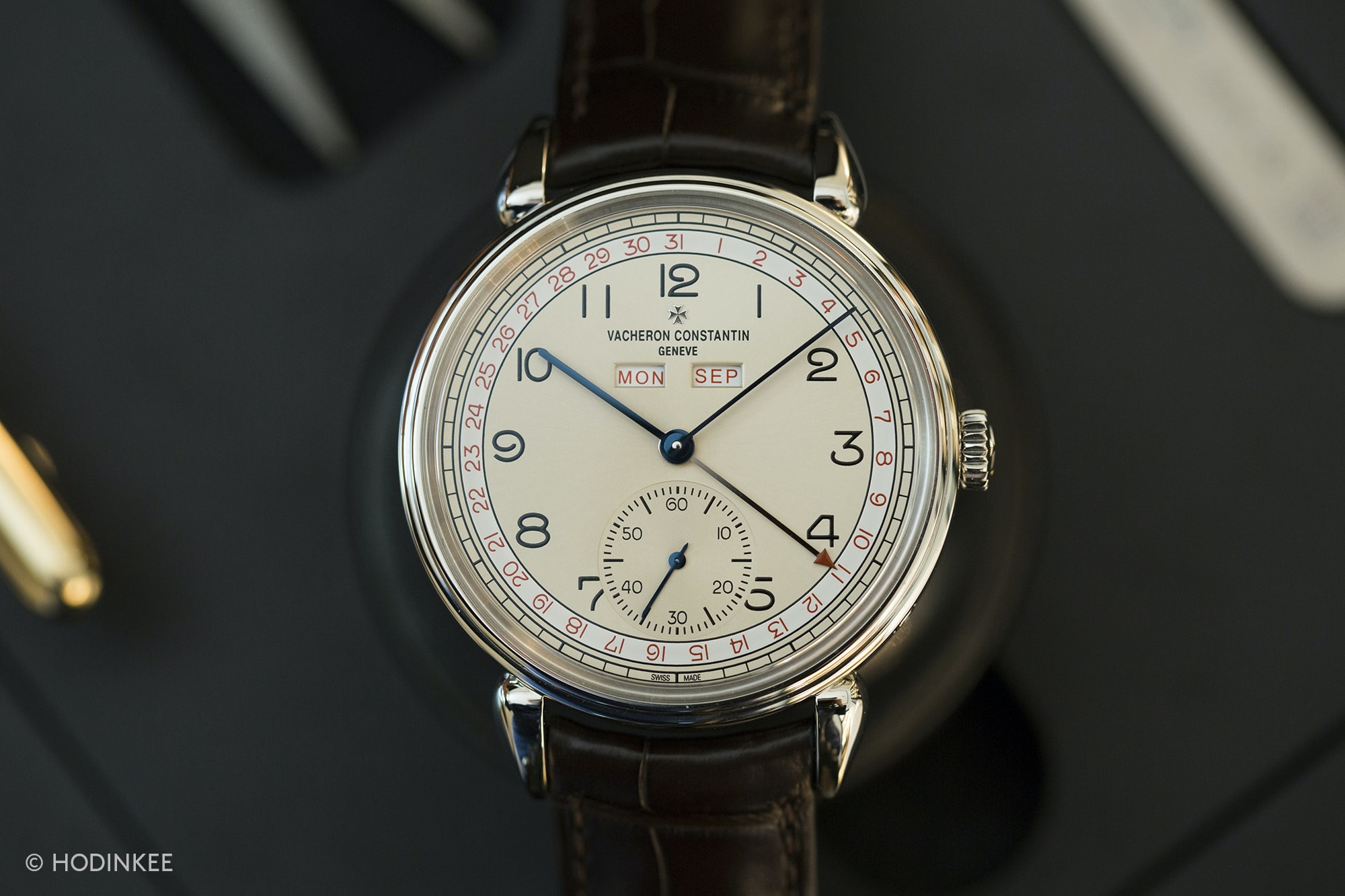 vacheron historiques calendrier 1942  Introducing: The New Vacheron Constantin Historiques: Triple Calendrier 1942 And 1948, And American 1921 Small (Exclusive Live Pics) 3H0A2912 copy