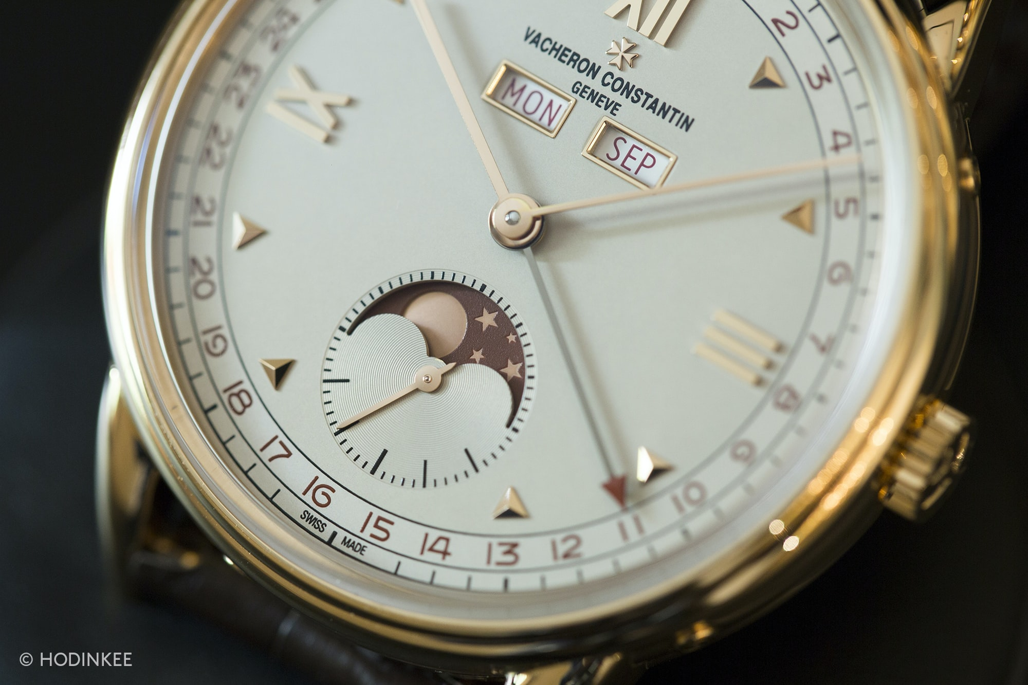 vacheron historiques 1948 dial  Introducing: The New Vacheron Constantin Historiques: Triple Calendrier 1942 And 1948, And American 1921 Small (Exclusive Live Pics) 3H0A2933 copy