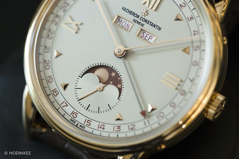 vacheron historiques 1948 dial