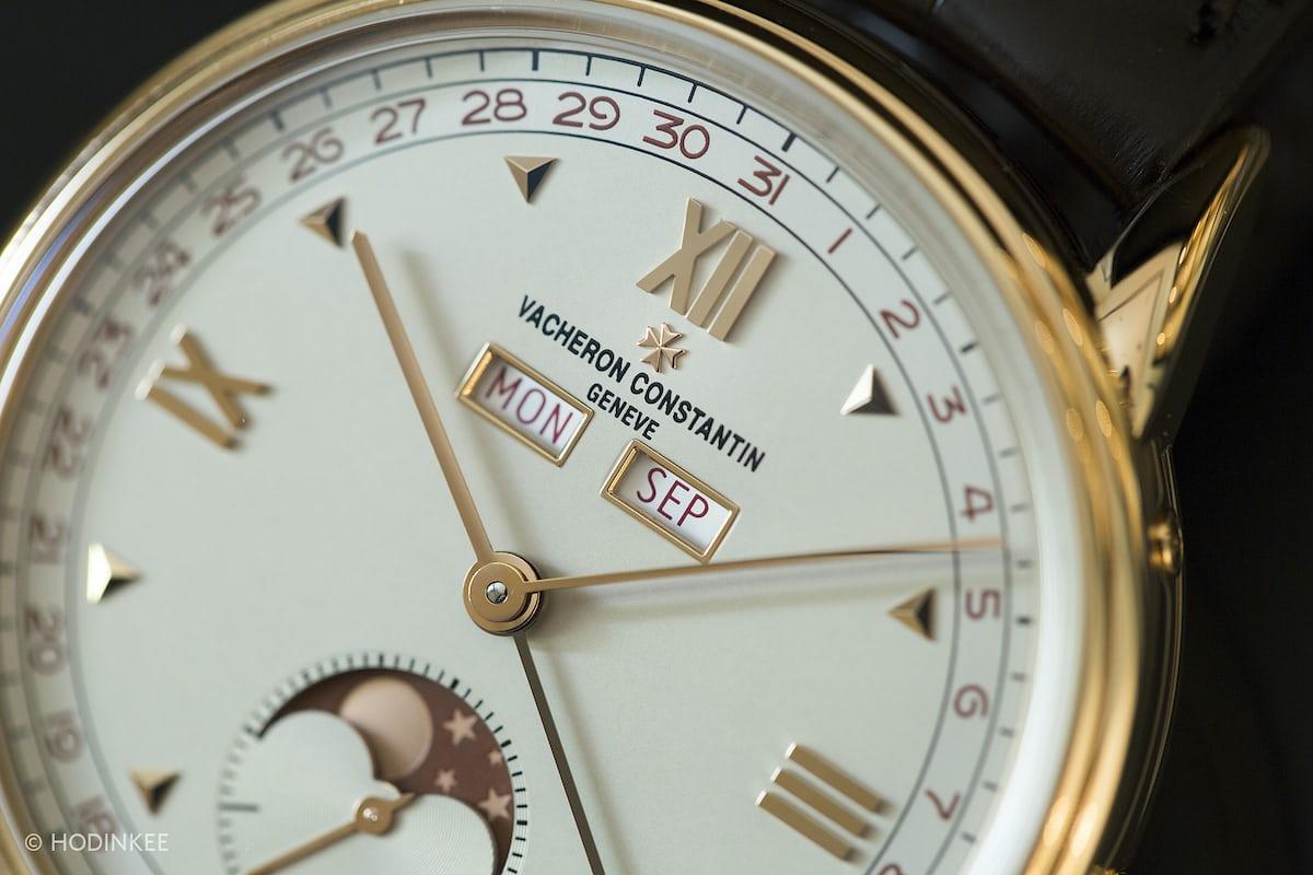 vacheron historiques 1948 dial closeup