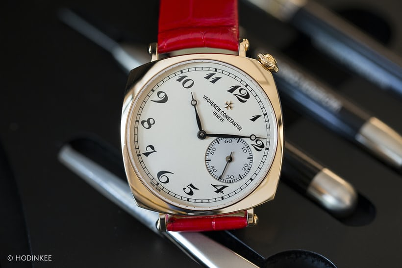 vacheron constantin 1921 small version dial closeup