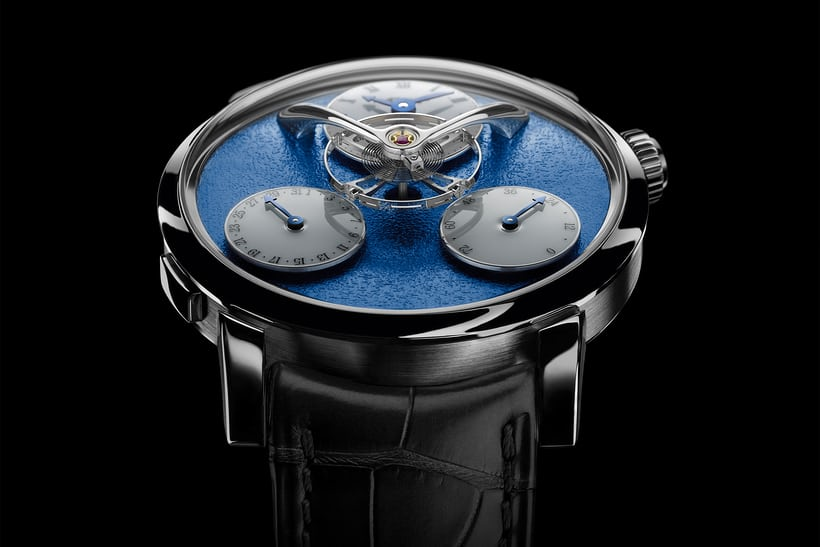 legacy machine split escapement side view