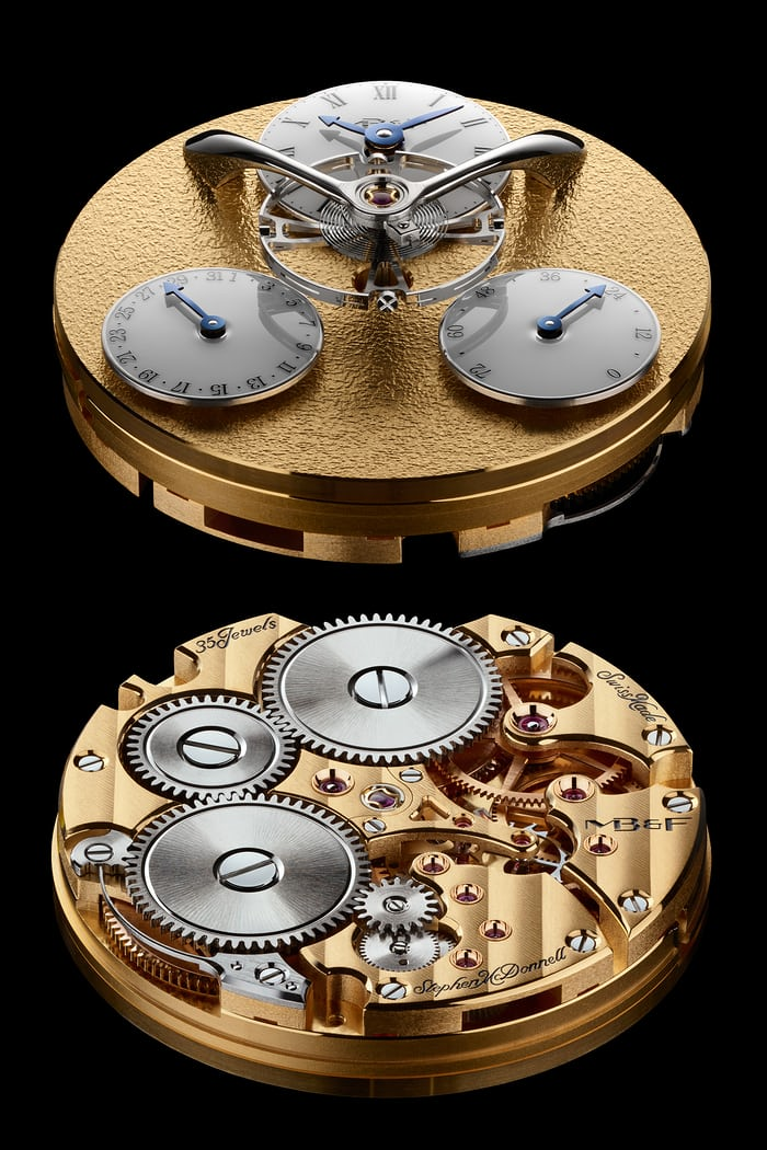 movement legacy machine split escapement
