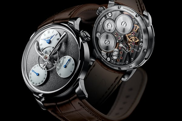 legacy machine split escapement ruthenium