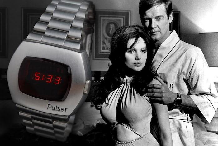 1973 pulsar led advertisement james bond