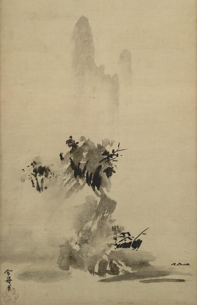 landscape by Sesshu Toyo, 1495