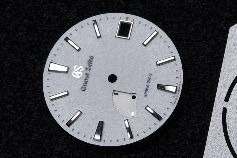 completed Spring Drive Snowflake dial