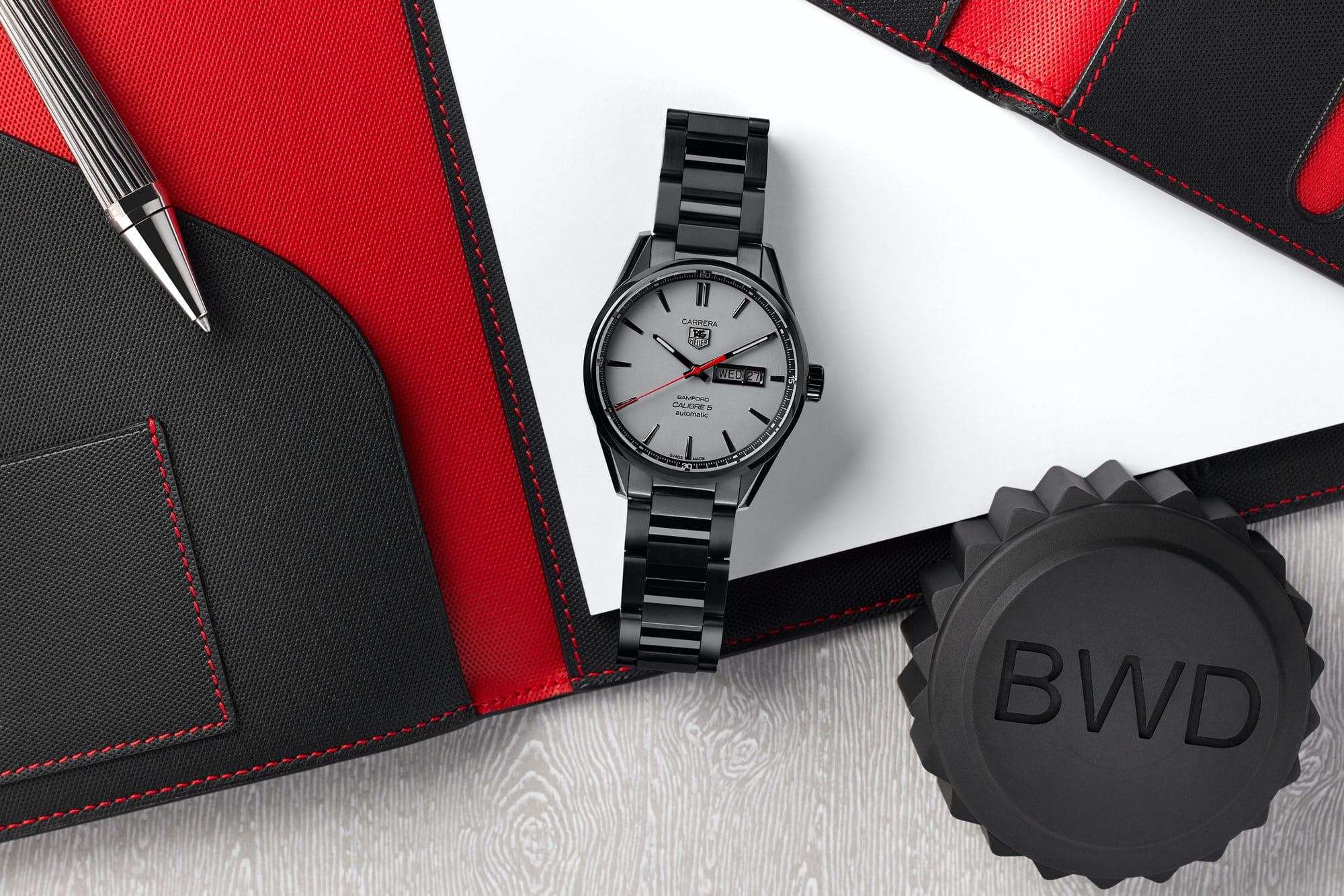 tag heuer calibre 5 bamford watch department