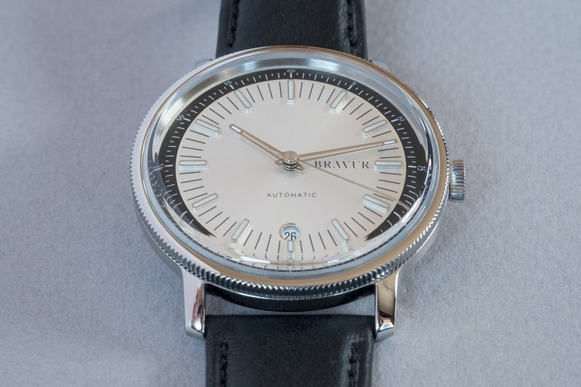 bravur watches bw003 silver details