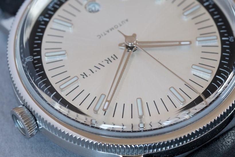 bravur watches bw003 hands