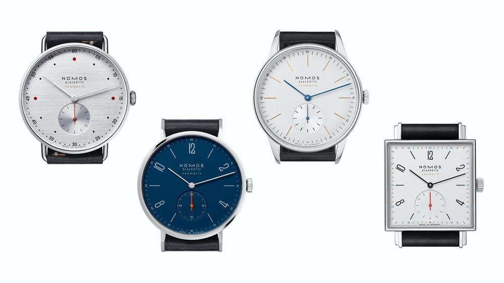 Introducing: The NOMOS Glashütte At Work Collection