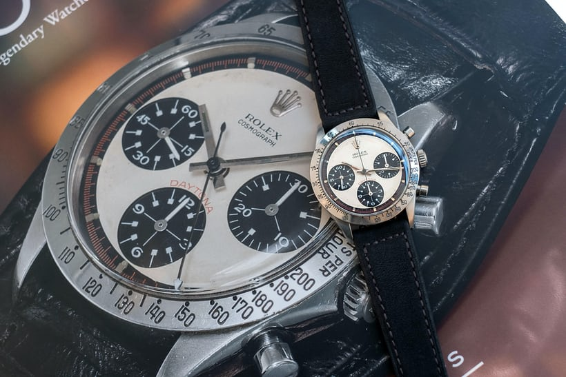 Hands On Paul Newman S Paul Newman Daytona Hodinkee