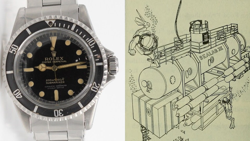 Found: A Rolex Submariner 5512 With Possible Sealab Provenance