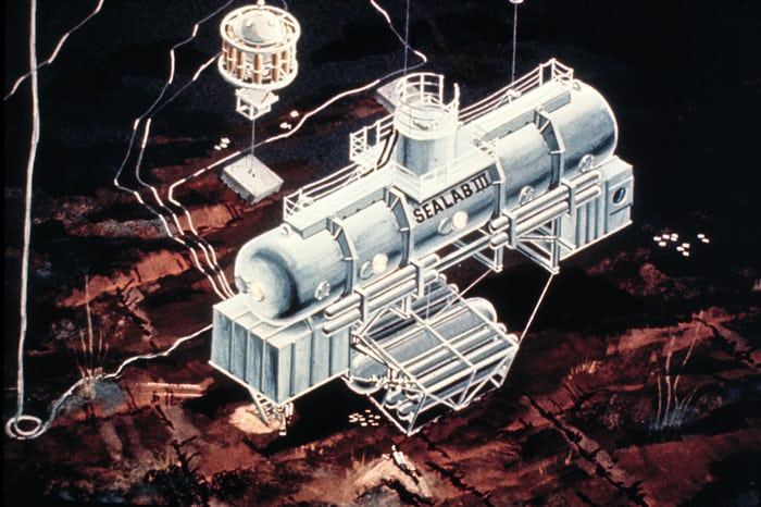 Artist's conception, Sealab III