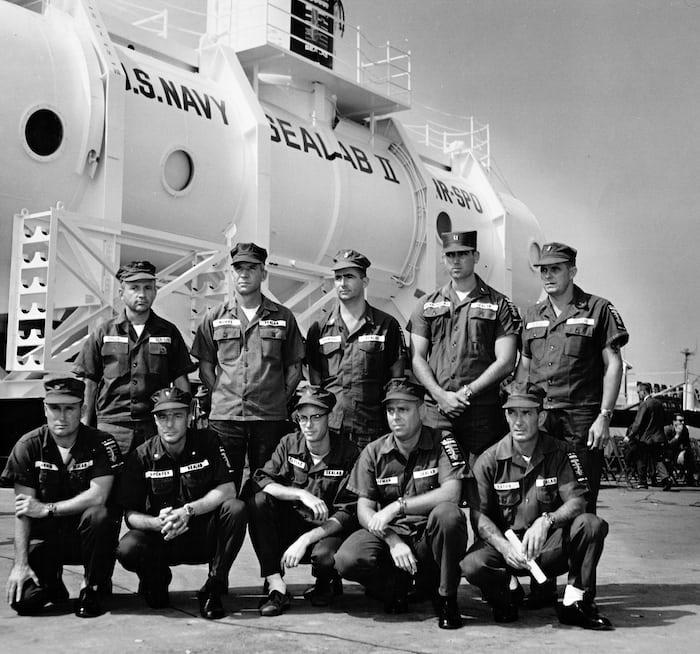 Crew of Sealab II