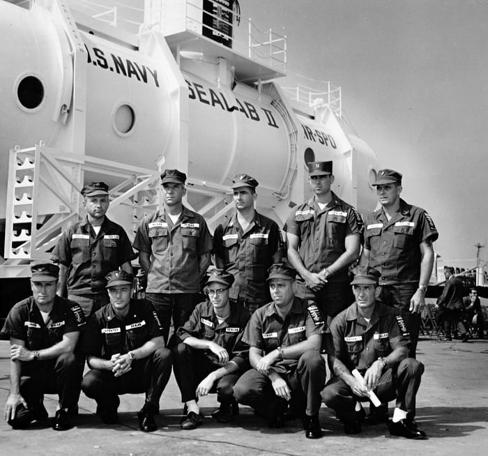 Crew of Sealab II