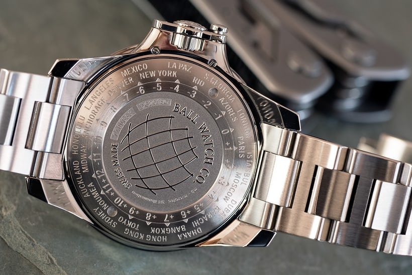 Ball Engineer Hydrocarbon AeroGMT II caseback