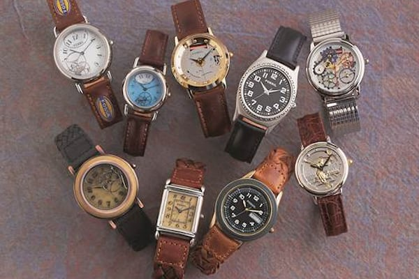 vintage fossil watches