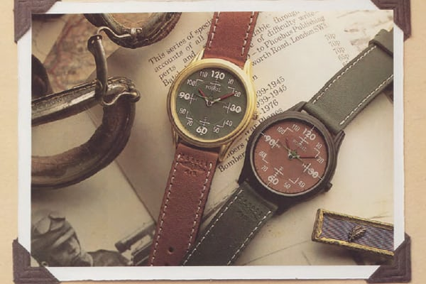 vintage fossil field style watches