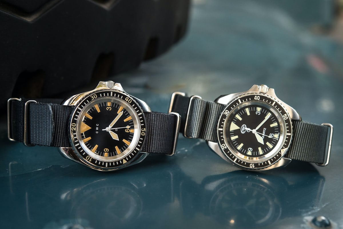 CWC 1980 Royal Navy Diver Re-Issue