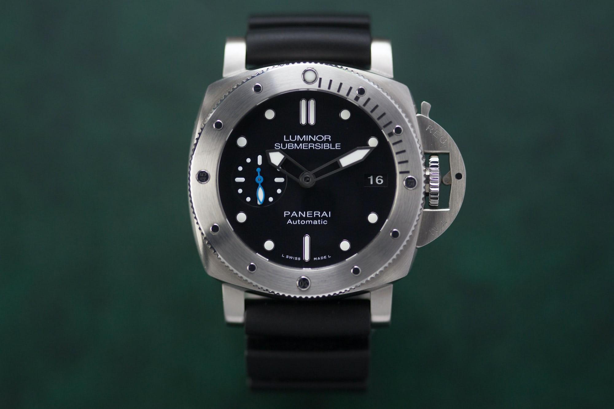 Hands on the panerai luminor submersible 1950 3 days - Panerai dive watch ...