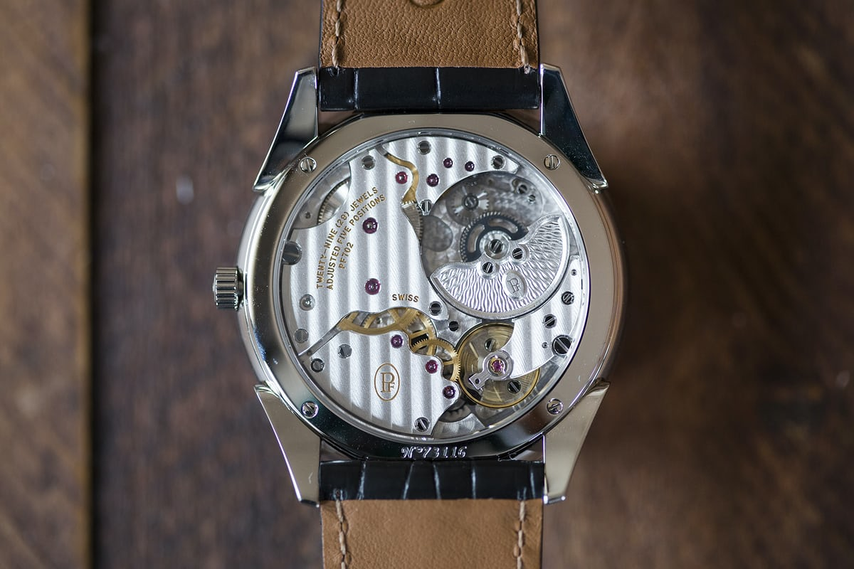 tonda 1950 steel movement