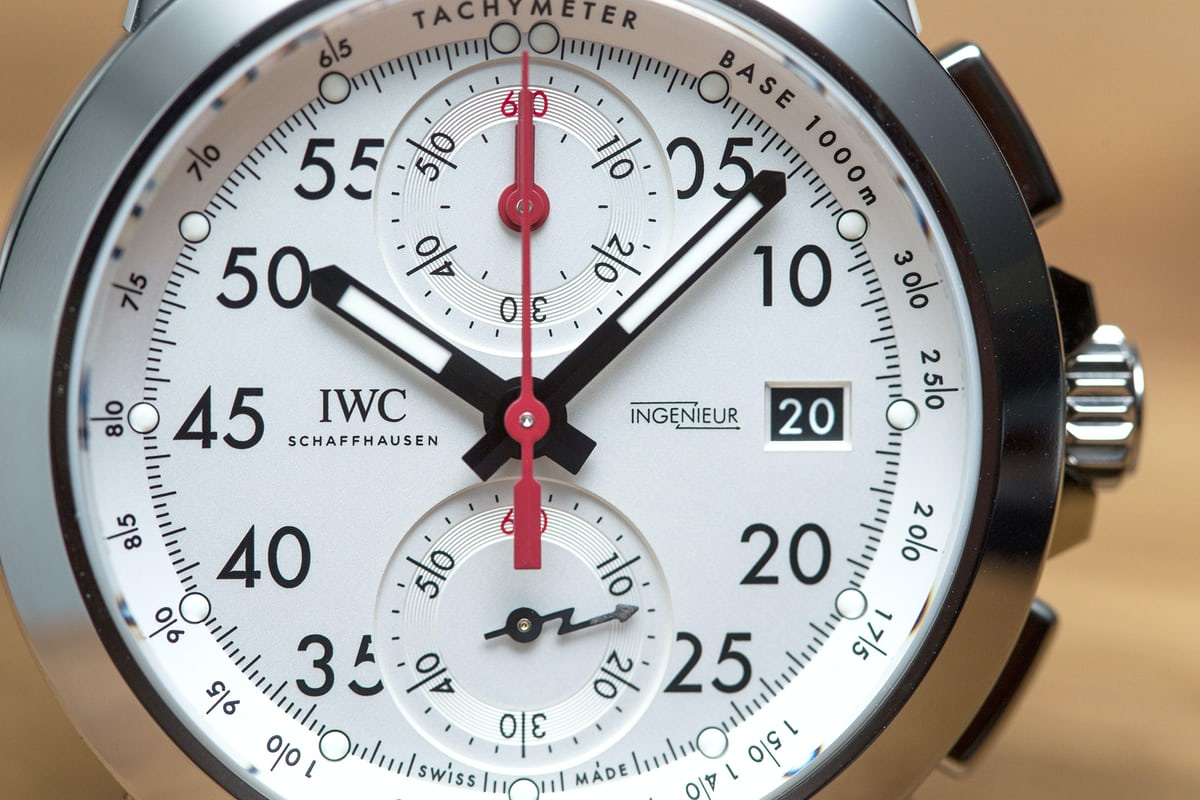 IWC Ingenieur Chronograph Sport Edition '50th Anniversary Of Mercedes-AMG'
