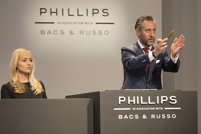 Aurel Bacs Phillips Paul Newman Auction