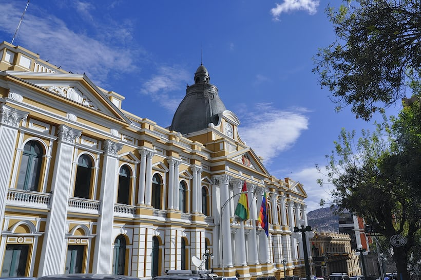 national congress building, La Paz, Bolivia