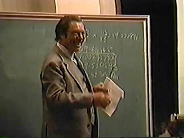 George Daniels AWCI lecture, 1990