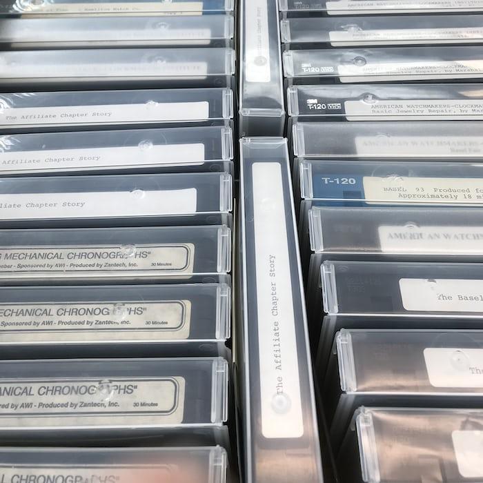AWCI VHS storage