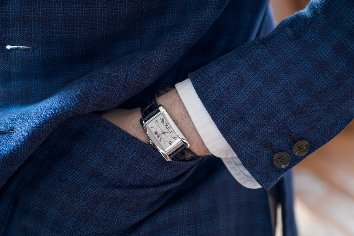 cartier tank americaine review wristshot steel