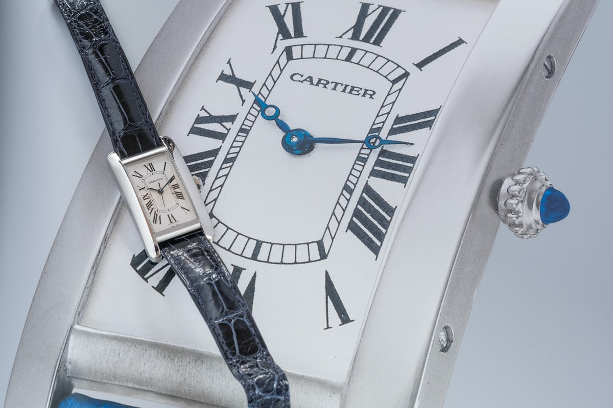 cartier tank americaine steel