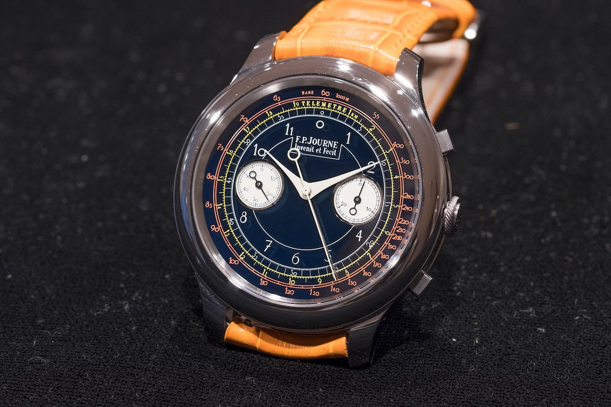 fp journe only watch monopusher chronograph