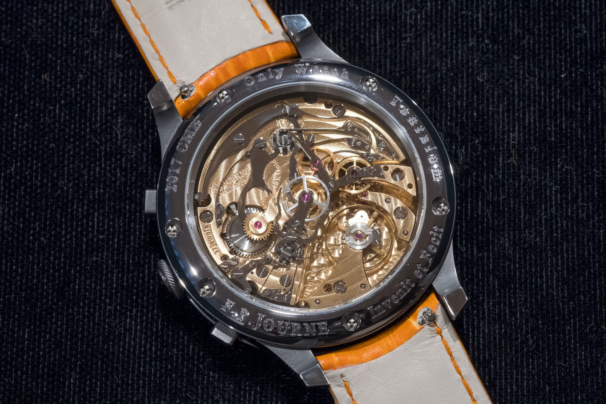 fp journe only watch monopusher movement Auction Report: My Eleven Favorite Watches From Only Watch 2017 Auction Report: My Eleven Favorite Watches From Only Watch 2017 journe2