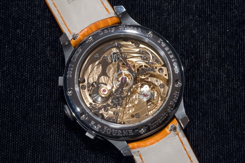 fp journe only watch monopusher movement
